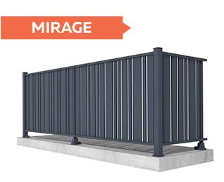Garde-corps Mirage