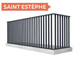 Garde-corps Saint Estèphe