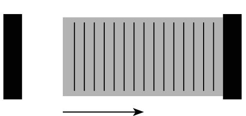 Schéma portail coulissant collection Équilibre d'Alucocnept